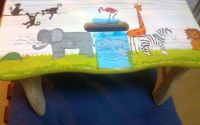 scaun de lemn copii
