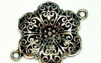Link floare argint tibetan 30 mm