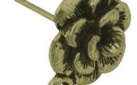 Baza cercei floare bronz antichizat
