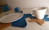 Suporturi pentru pahare BLUE MOON set 4 buc