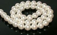 Perle albe sferice Mallorca 12 mm