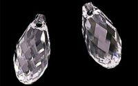 Brioleta fatetata cristal transparent 6 x 11 mm
