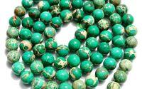 Sfere regalit verde jasp imperial 10 mm
