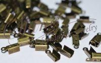 Capat de snur bronz 12x5mm