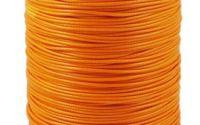 Snur portocaliu polyester