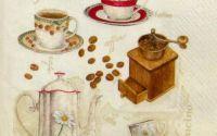 Servetel Cu cafea