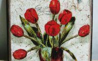 Tablou Vintage Tulips