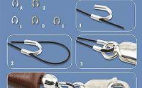 10 Aparatoare sarma wire - guardian plt. argint
