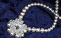 Colier din perle si cristale Swarovski