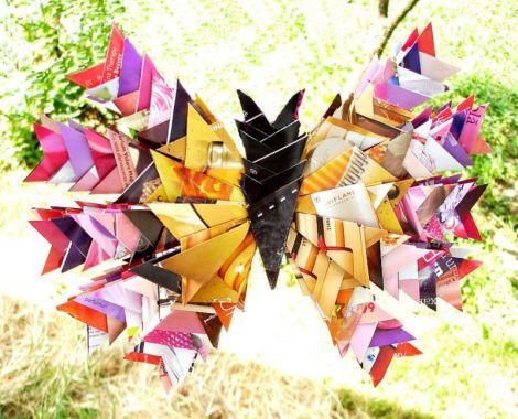 """Fluture Origami - pentru concurs """"Fluturi"""""""