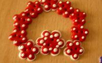 Nasturi-Flori rosii