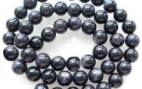 Sfere goldstone albastru 8 mm